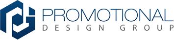 Promotional Design Groups blue Logo