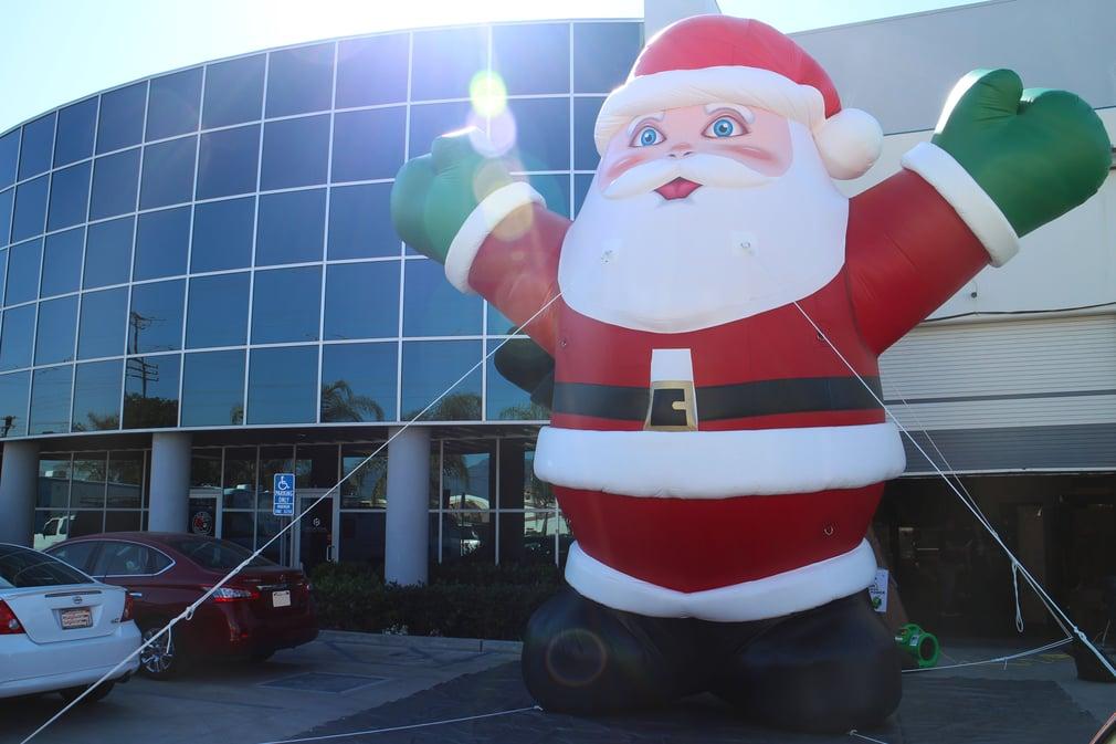 Huge Inflatable Santa