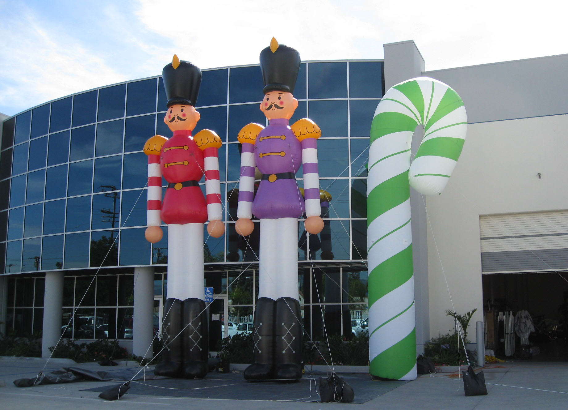 Huge Inflatable Toy Soldiers