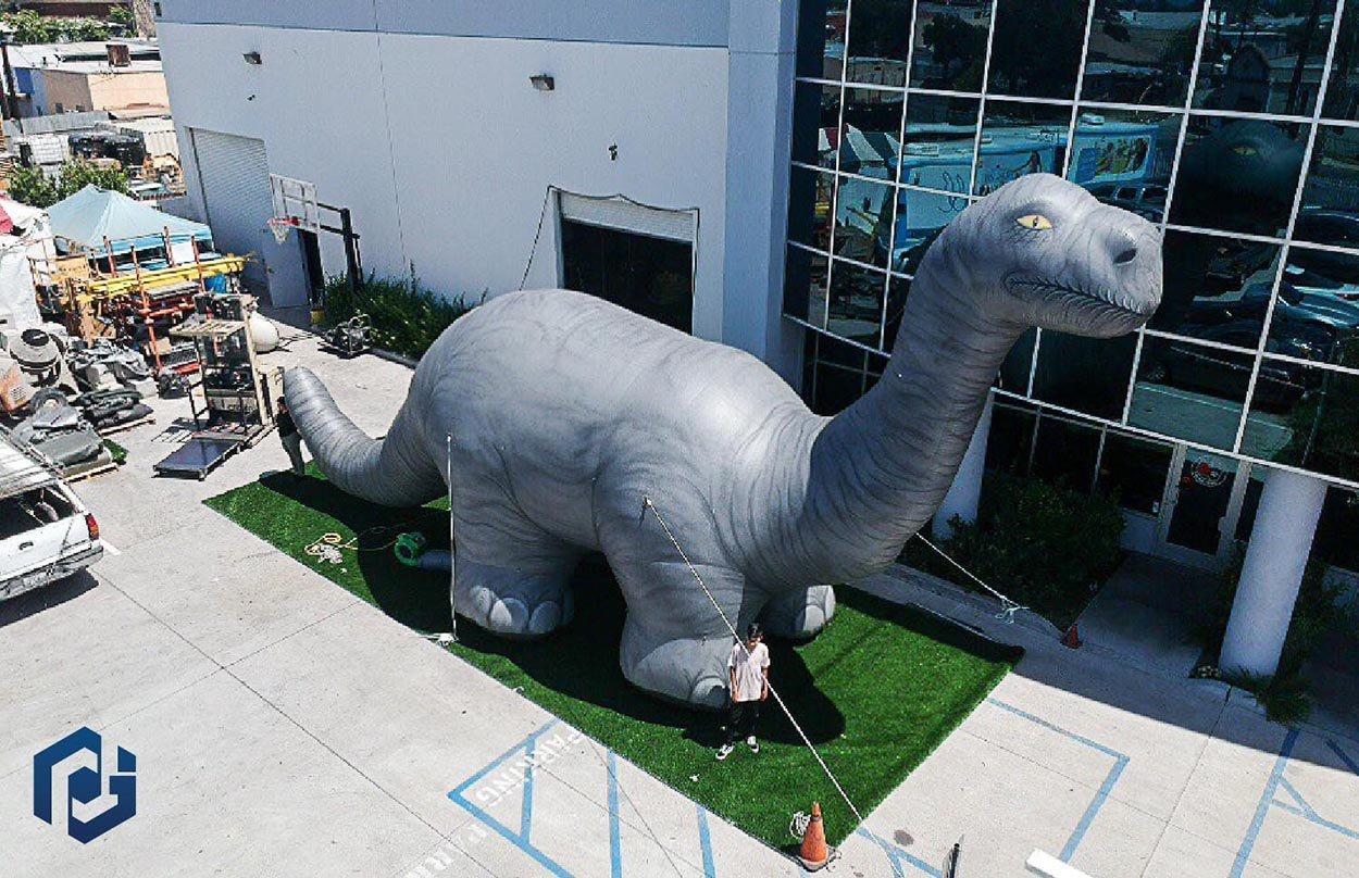 Inflatable-Brontosaurus