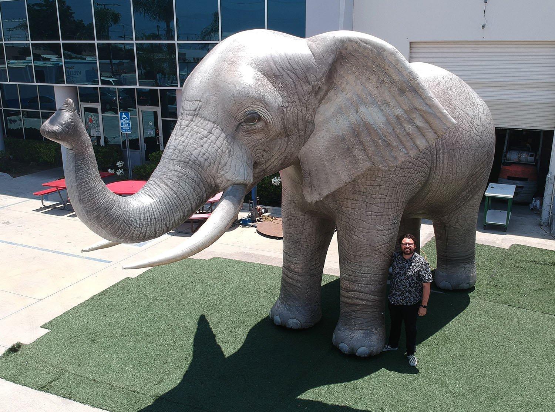 realistic-elephant-prop