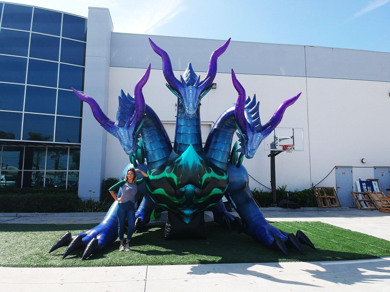 custom-inflatable-dragon-with-girl